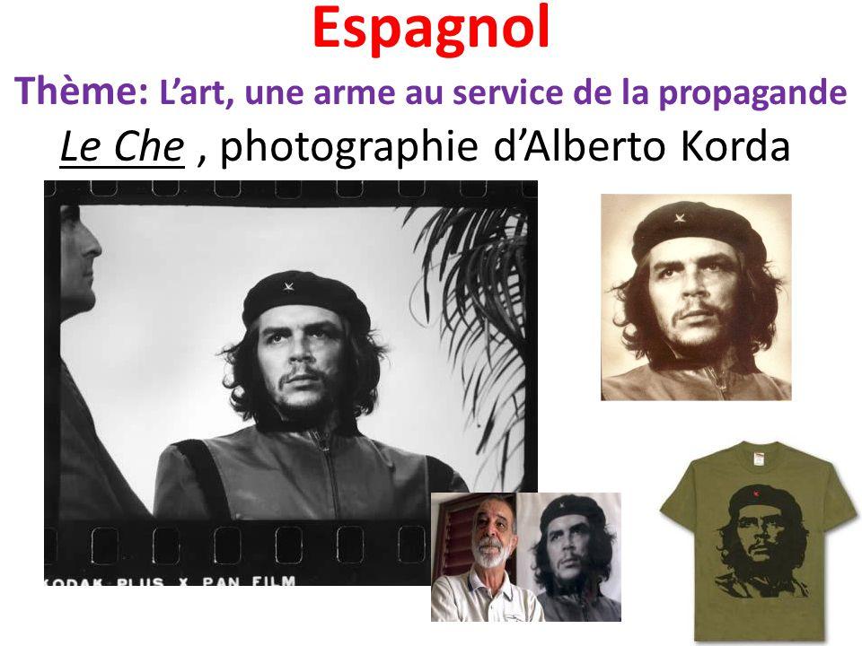 Espagnol Thème: L'art, une arme au service de la propagande Le Che , photographie d'Alberto Korda