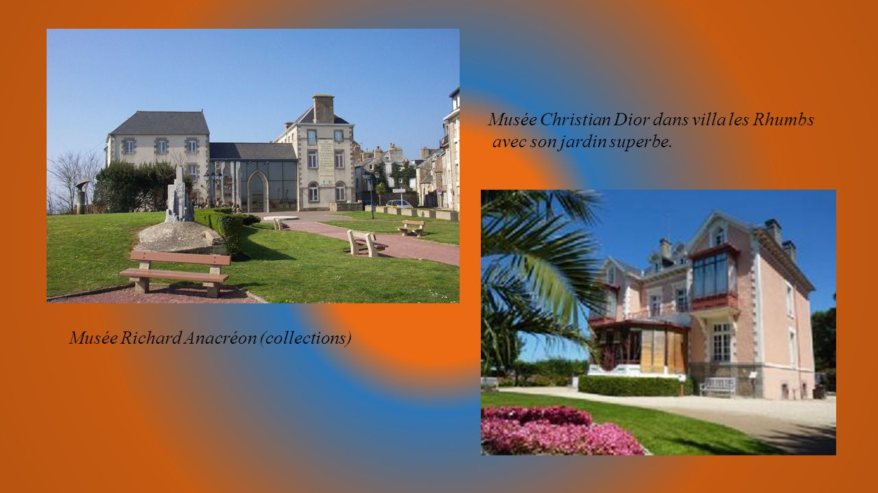 Musée Christian Dior dans villa les Rhumbs