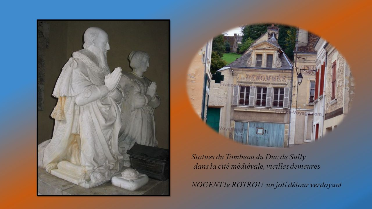 Statues du Tombeau du Duc de Sully