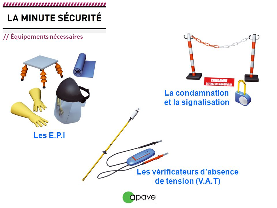 Pr vention du risque lectrique la consignation - Chute de tension electrique ...