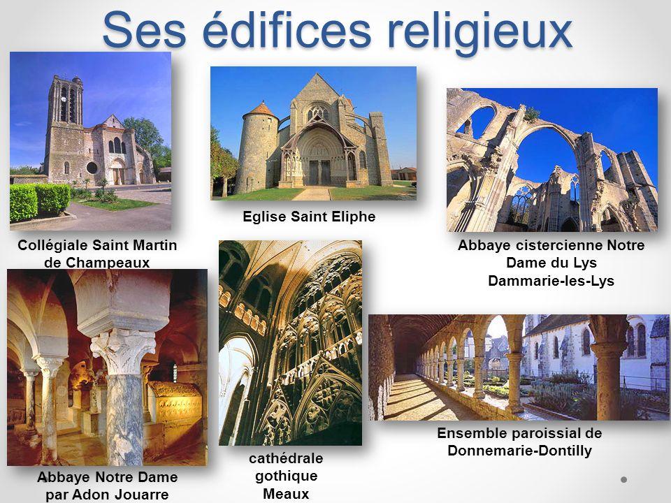 Ses édifices religieux