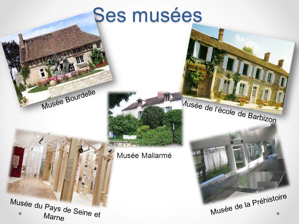 Ses musées Musée Bourdelle Musée de l'école de Barbizon Musée Mallarmé