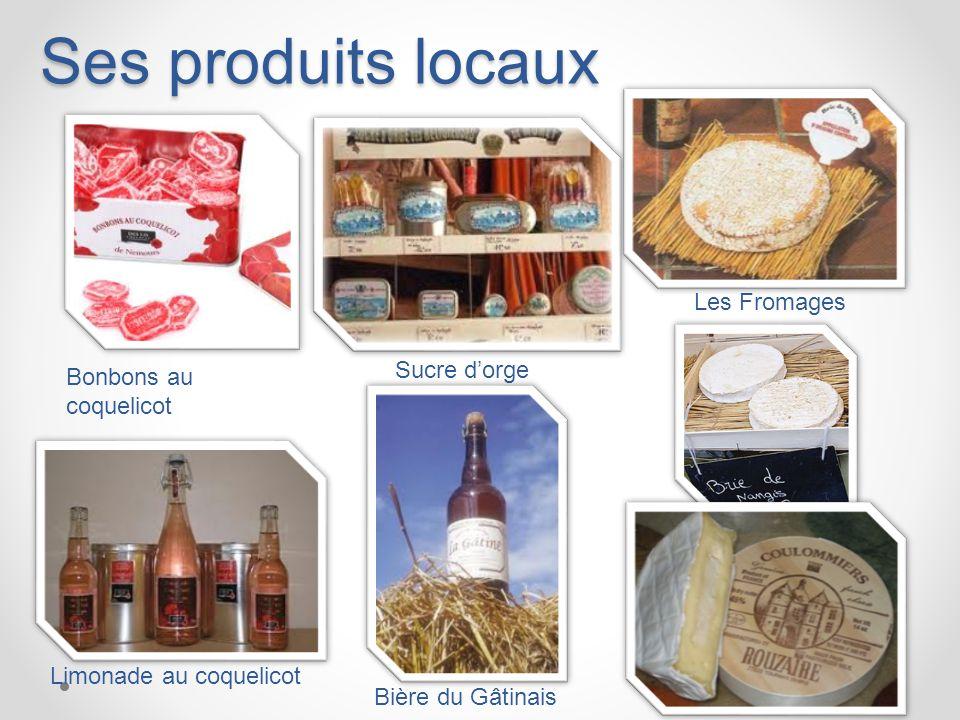 Ses produits locaux Les Fromages Sucre d'orge Bonbons au coquelicot