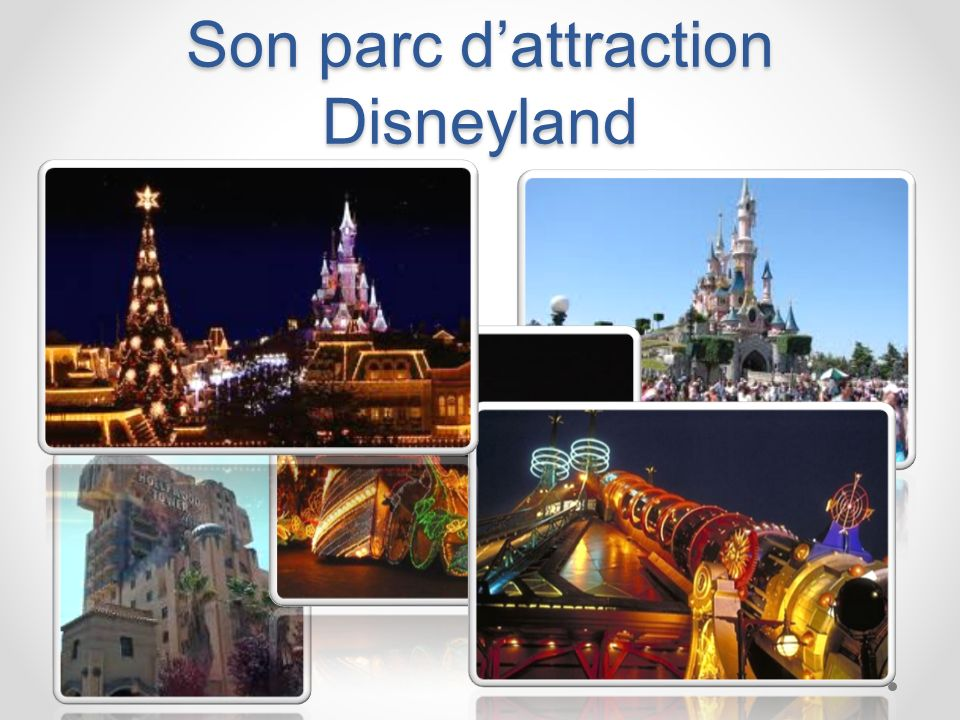 Son parc d'attraction Disneyland