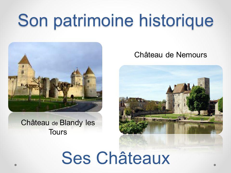 Son patrimoine historique