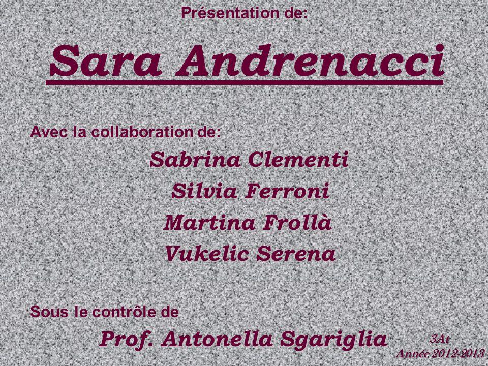 Sara Andrenacci Sabrina Clementi Silvia Ferroni Martina Frollà