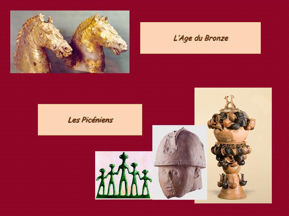 L'Age du Bronze Les Picéniens