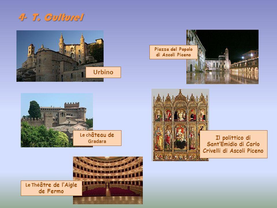 4- T. Culturel Urbino Le château de Gradara