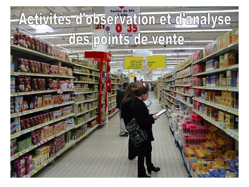 Activités d observation et d analyse
