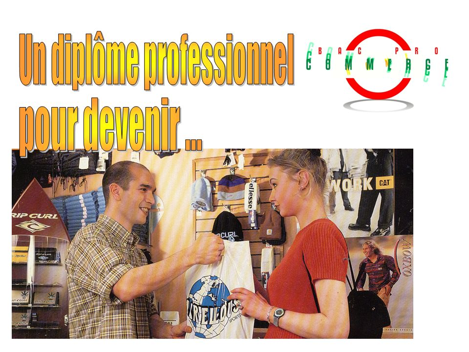 Un diplôme professionnel