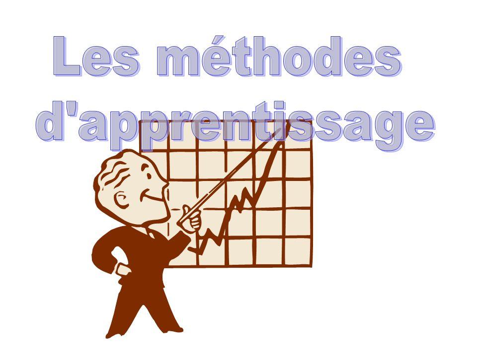 Les méthodes d apprentissage