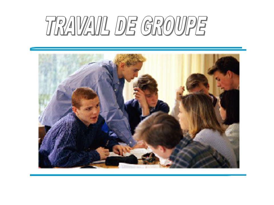 TRAVAIL DE GROUPE