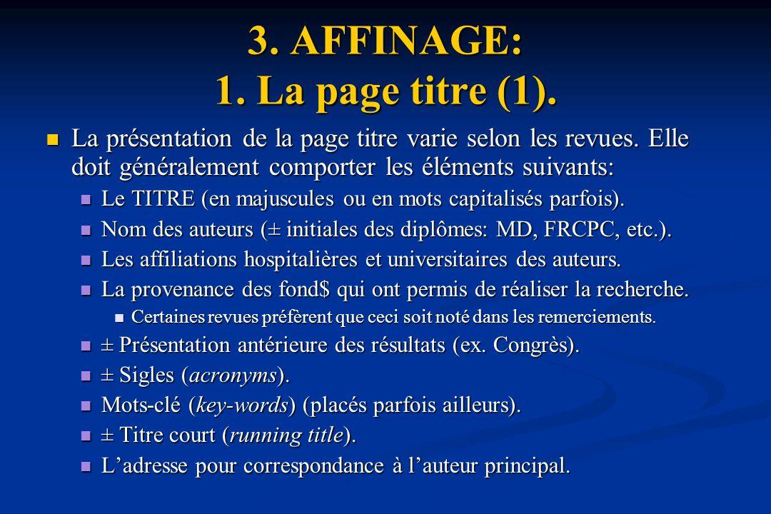 3. AFFINAGE: 1. La page titre (1).