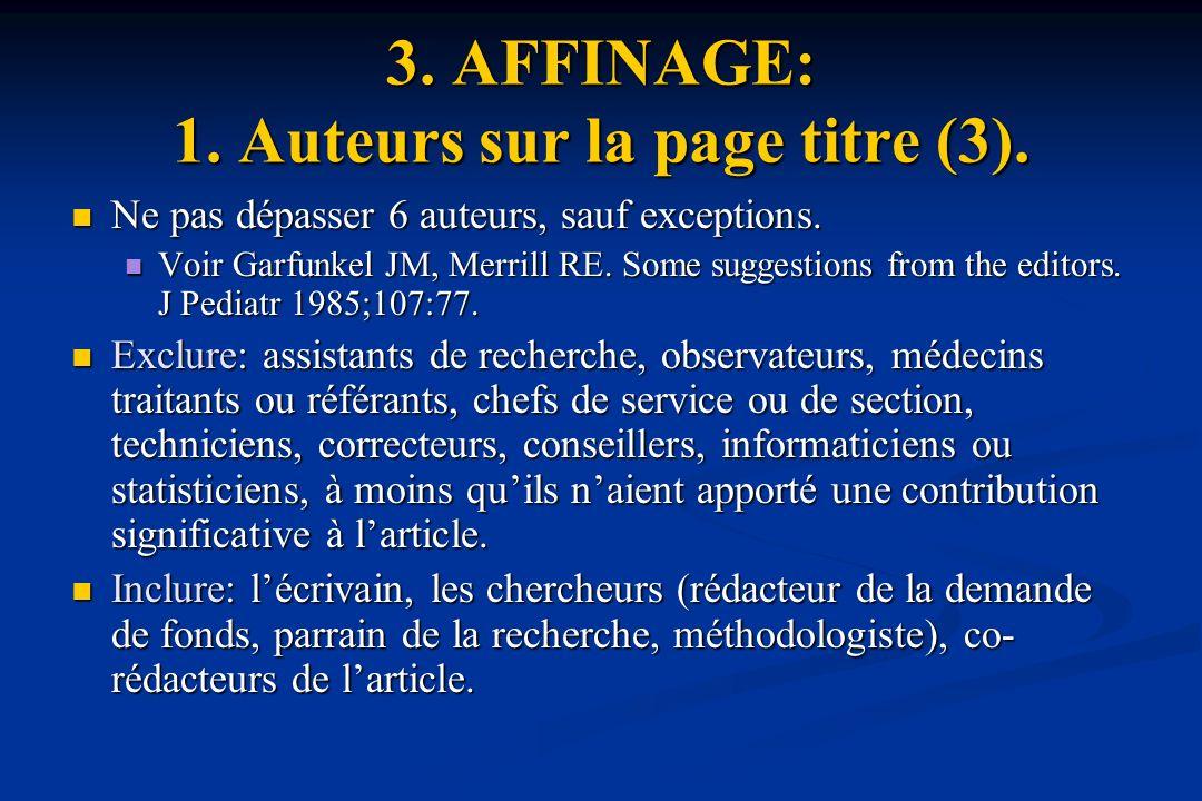 3. AFFINAGE: 1. Auteurs sur la page titre (3).