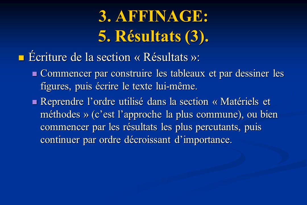 3. AFFINAGE: 5. Résultats (3).