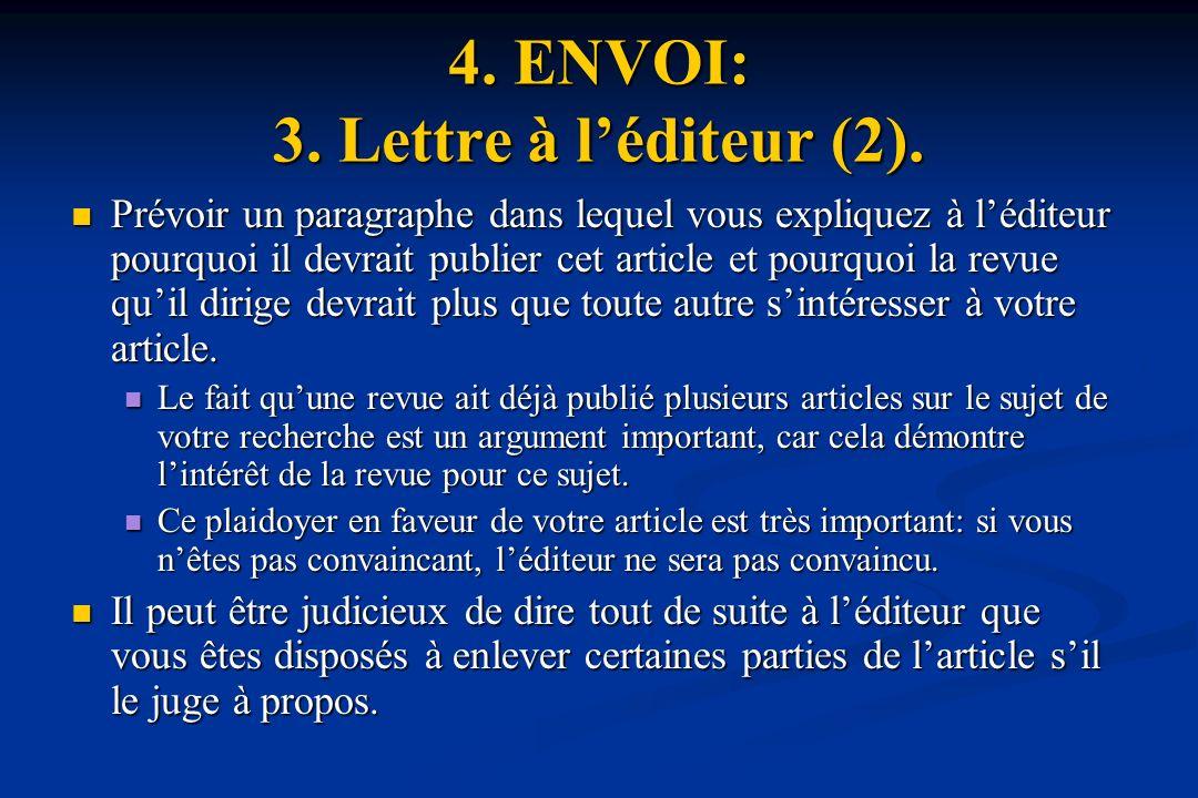 4. ENVOI: 3. Lettre à l'éditeur (2).