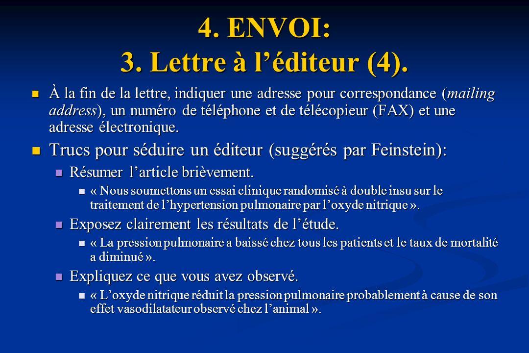 4. ENVOI: 3. Lettre à l'éditeur (4).