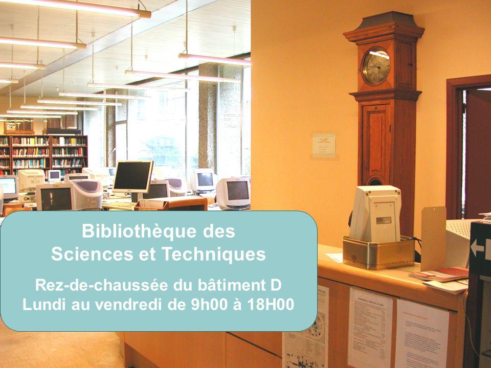 Bibliothèque des Sciences et Techniques