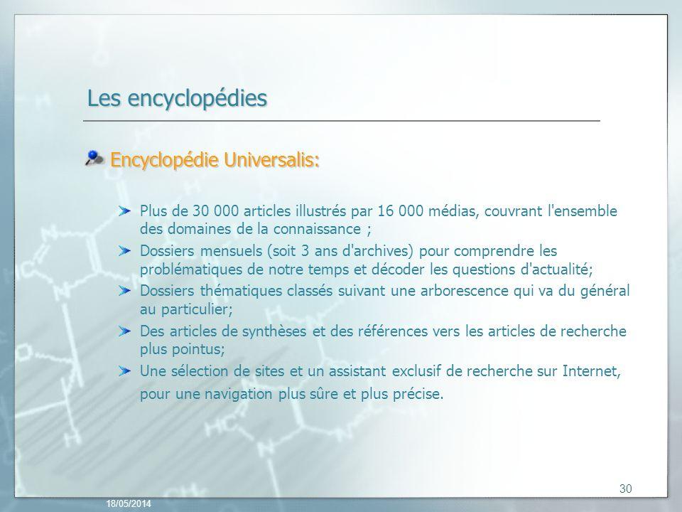 Les encyclopédies Encyclopédie Universalis: