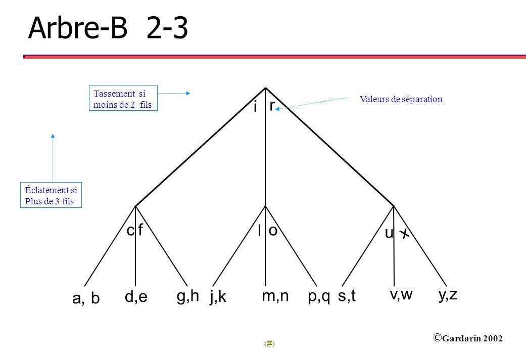 Arbre-B 2-3 i r c f l o u x d,e g,h j,k m,n p,q s,t v,w y,z a, b