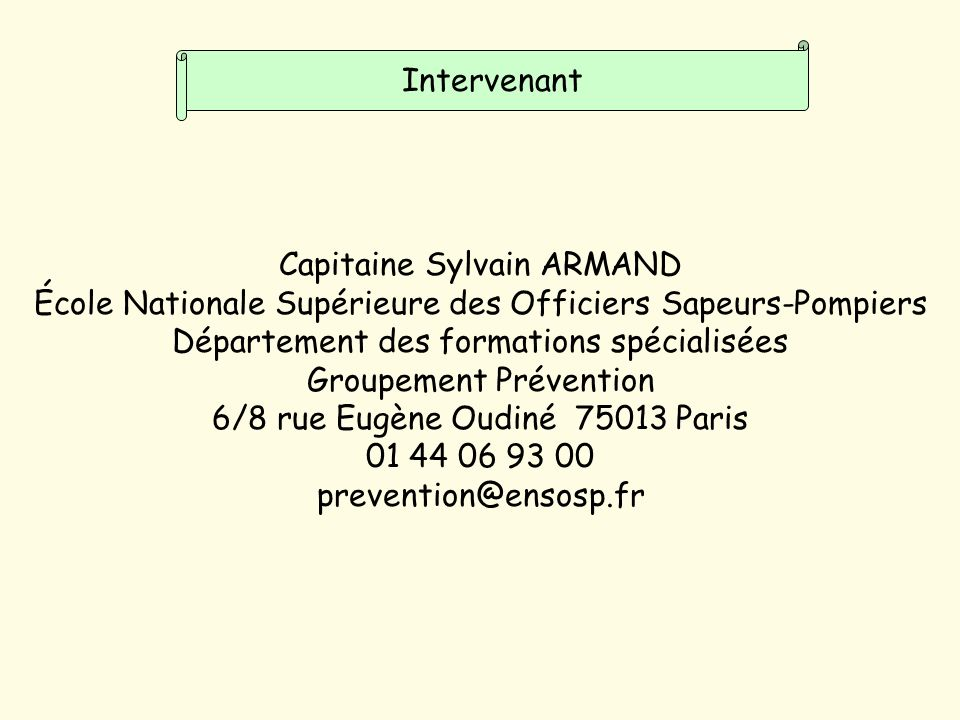 Capitaine Sylvain ARMAND