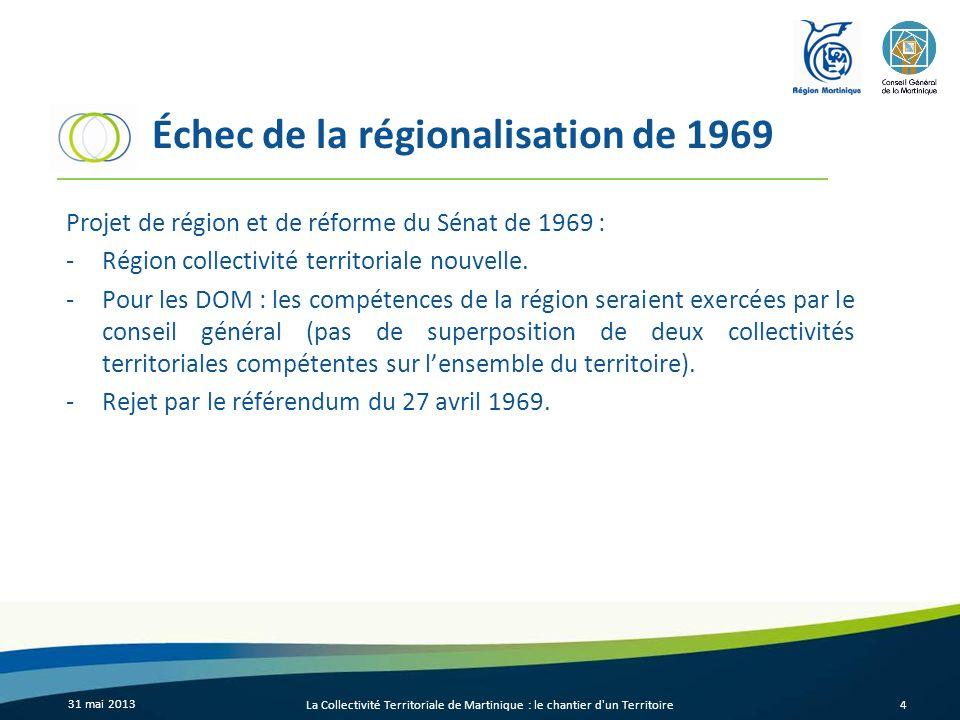 Échec de la régionalisation de 1969