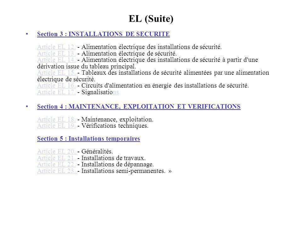 EL (Suite)