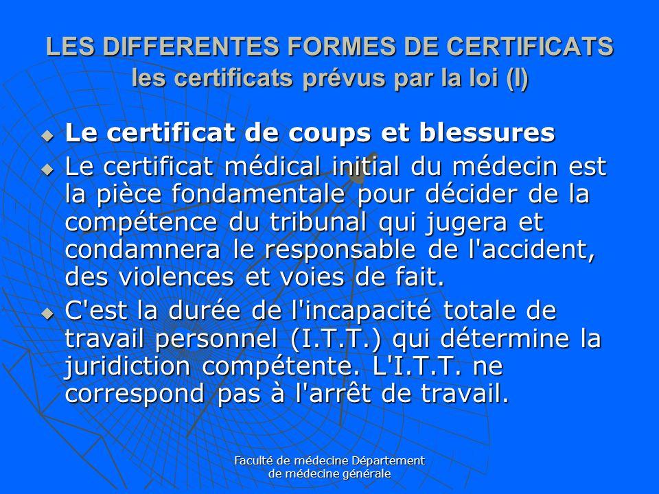 Les certificats medicaux ppt video online t l charger - Coups et blessures volontaires code penal ...