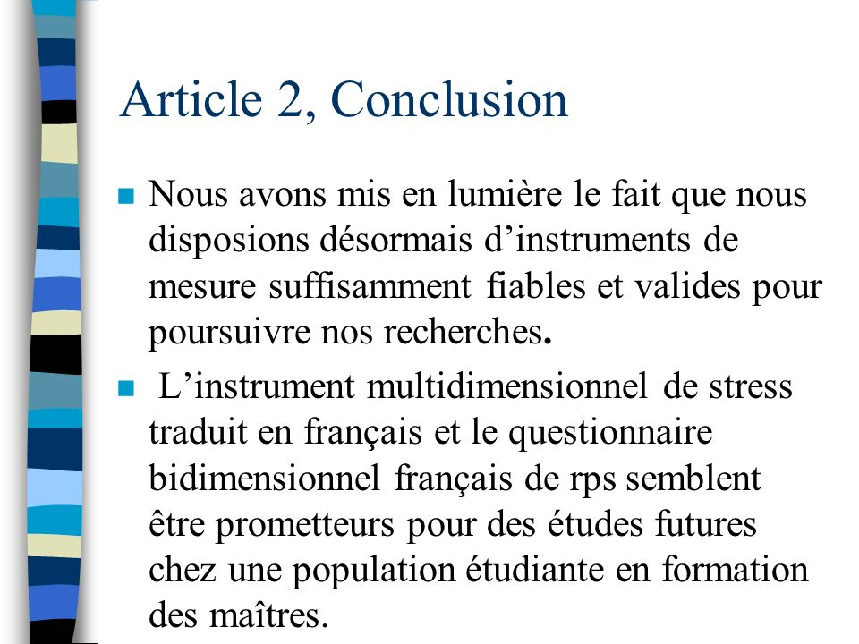 Article 2, Conclusion