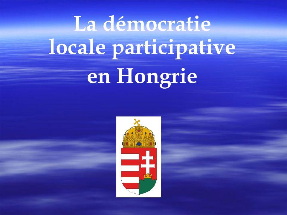 La démocratie locale participative