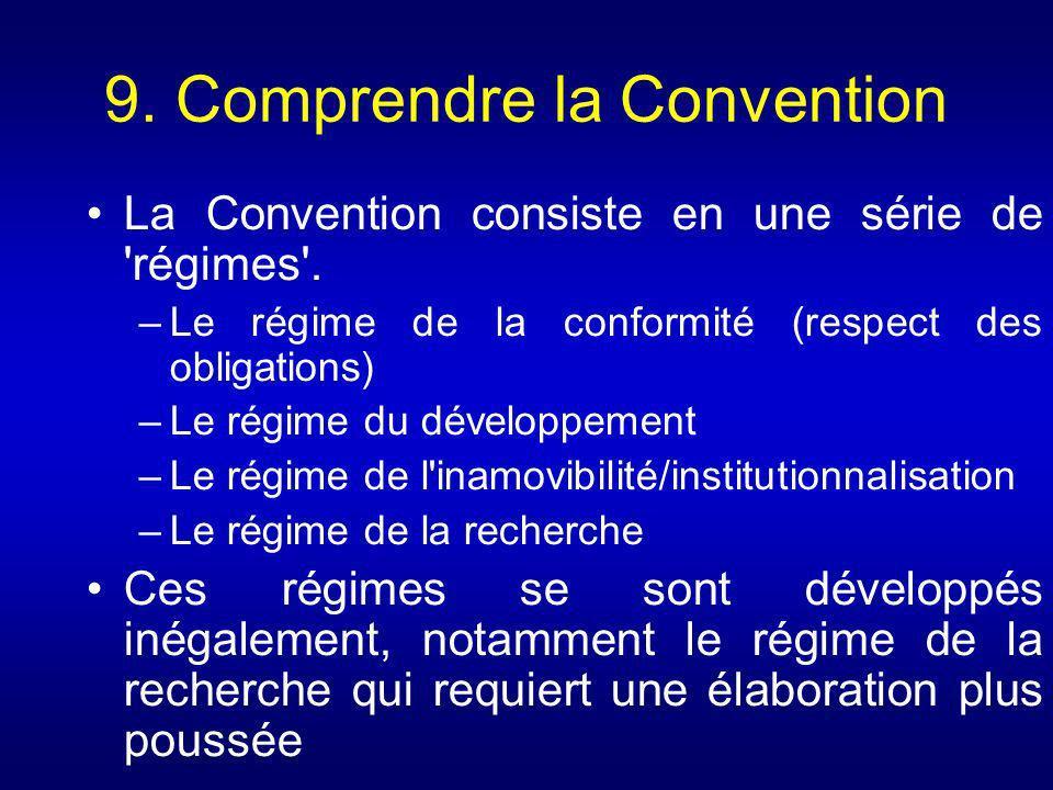 9. Comprendre la Convention