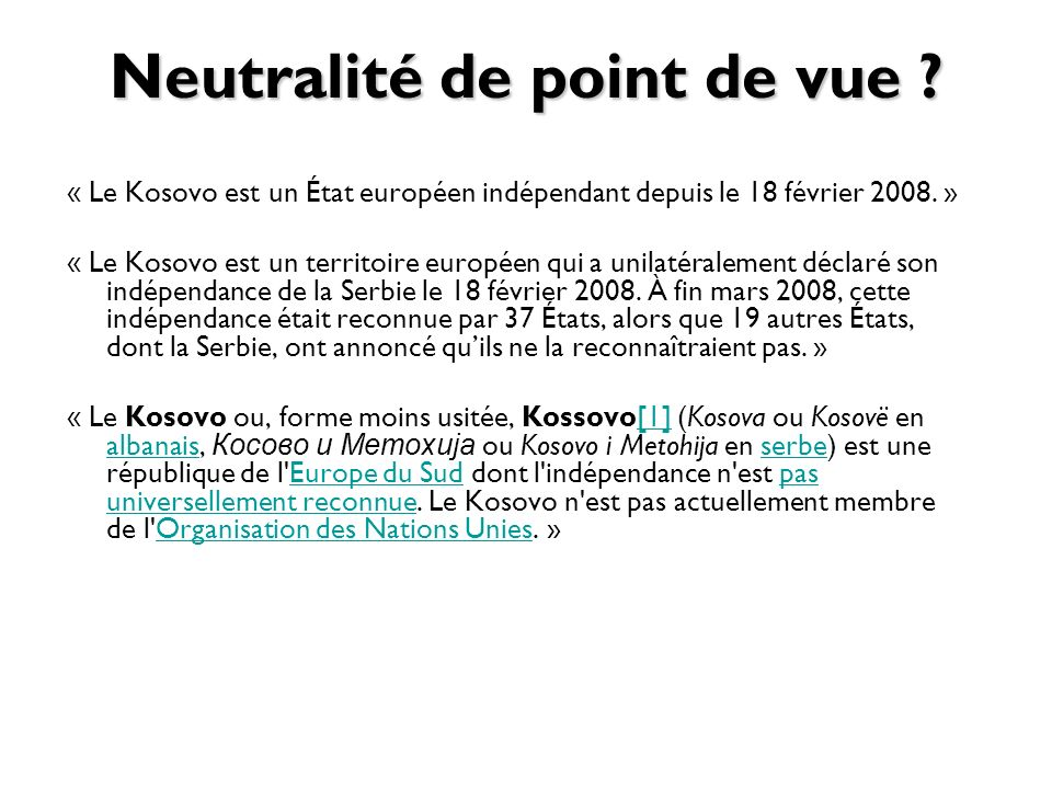 Neutralité de point de vue