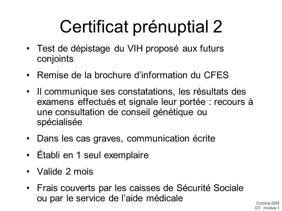 Certificat prénuptial 2