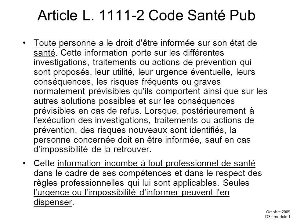 Article L. 1111-2 Code Santé Pub