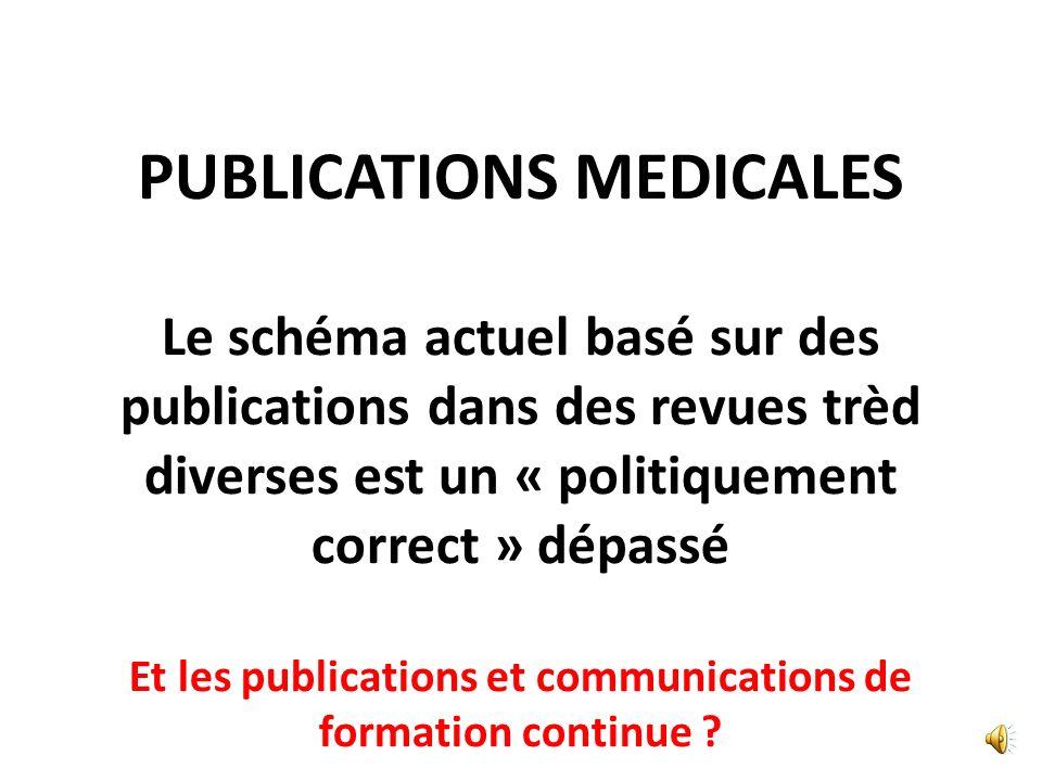 PUBLICATIONS MEDICALES
