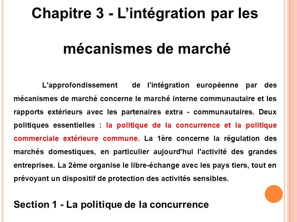 Chapitre 3 - L'intégration par les