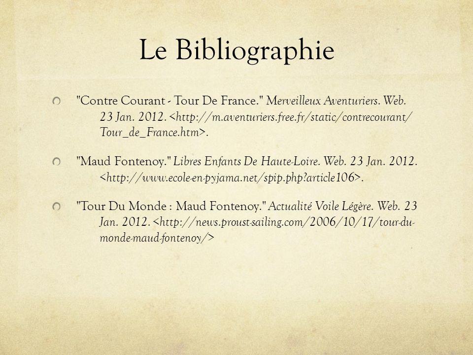 Le Bibliographie