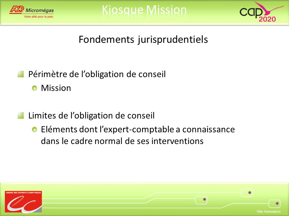 Fondements jurisprudentiels