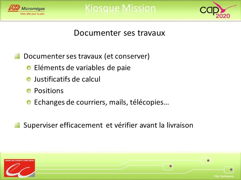 Documenter ses travaux