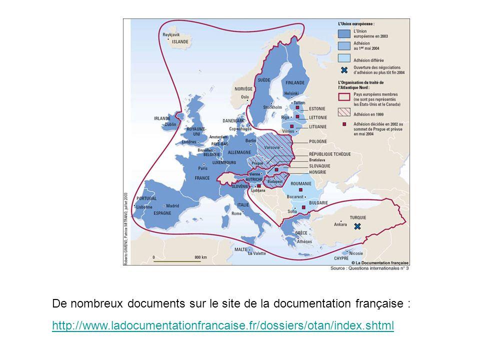 De nombreux documents sur le site de la documentation française :