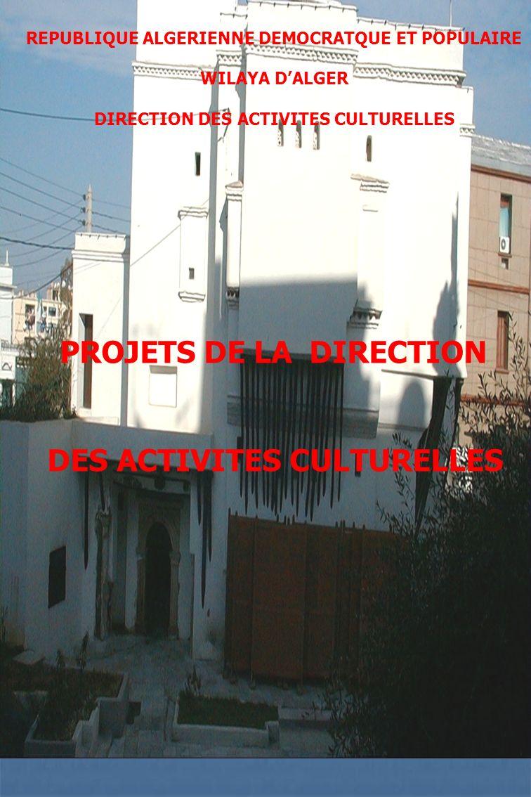 DES ACTIVITES CULTURELLES
