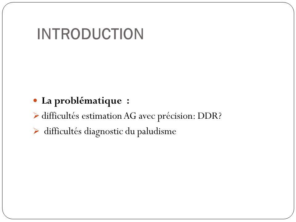 INTRODUCTION La problématique :