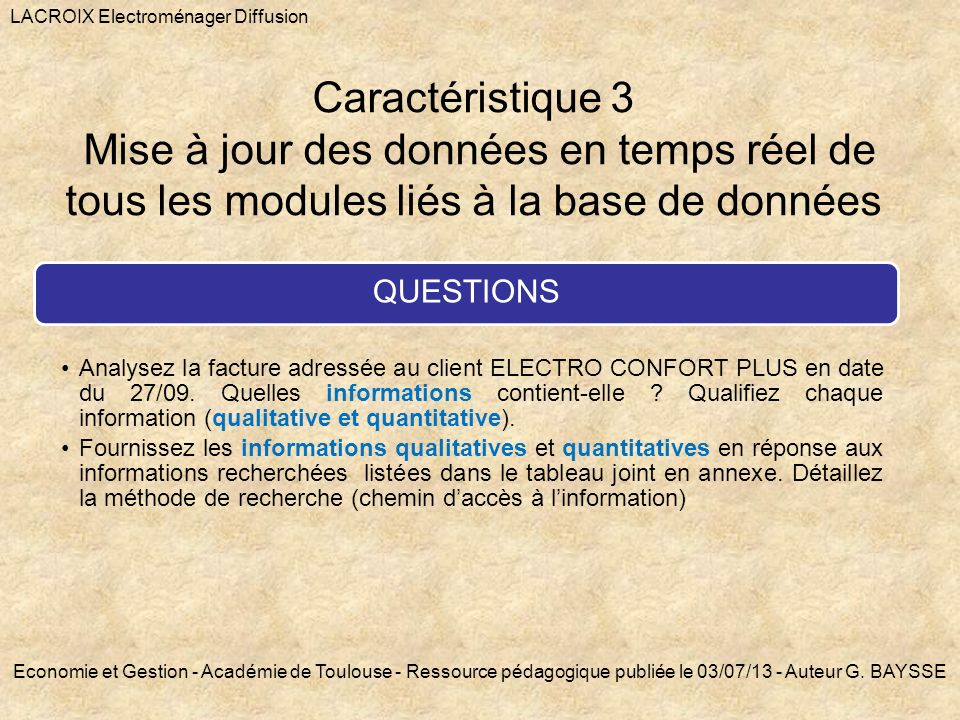 LACROIX Electroménager Diffusion