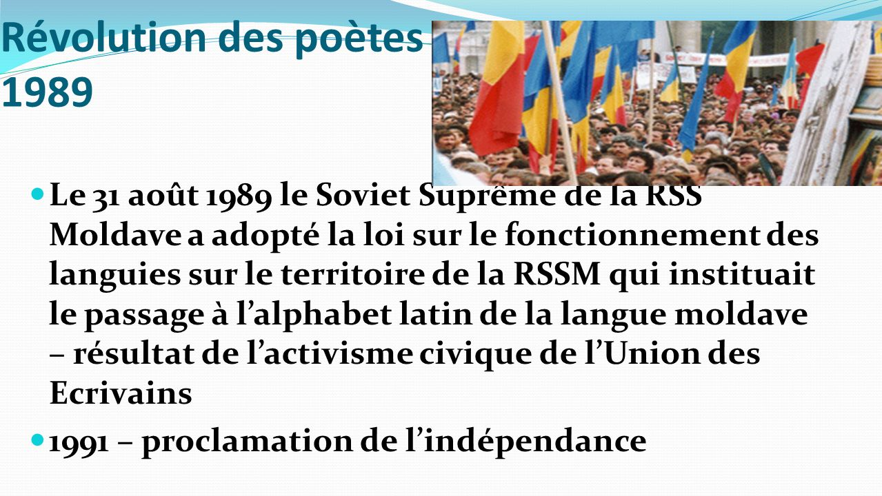 Révolution des poètes 1989