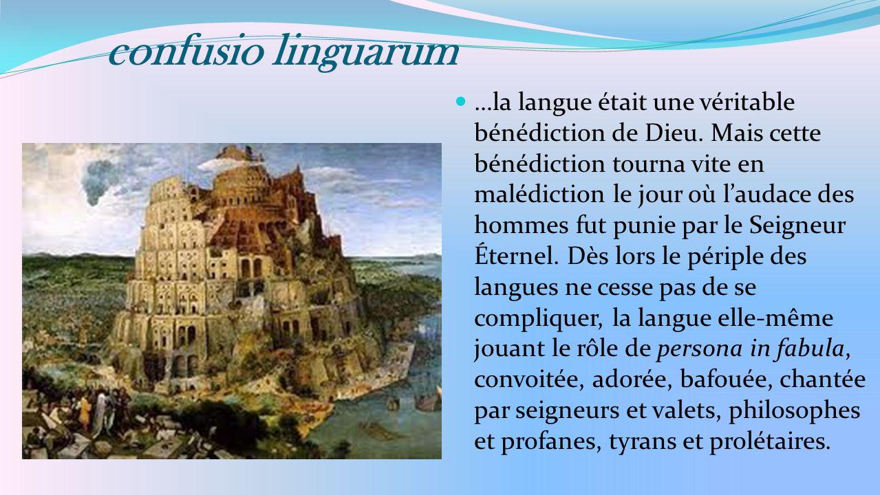 confusio linguarum