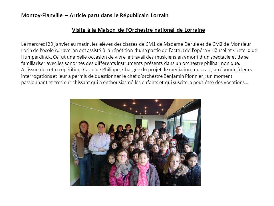 Visite à la Maison de l'Orchestre national de Lorraine