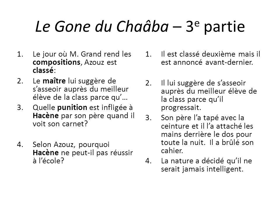Le Gone du Chaâba – 3e partie