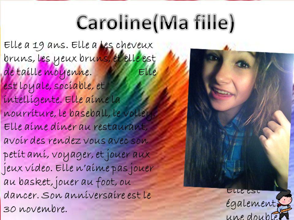 Caroline(Ma fille)