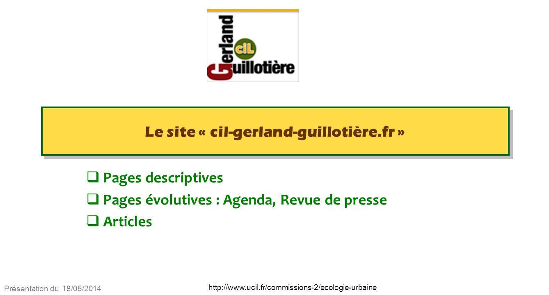 Le site « cil-gerland-guillotière.fr »
