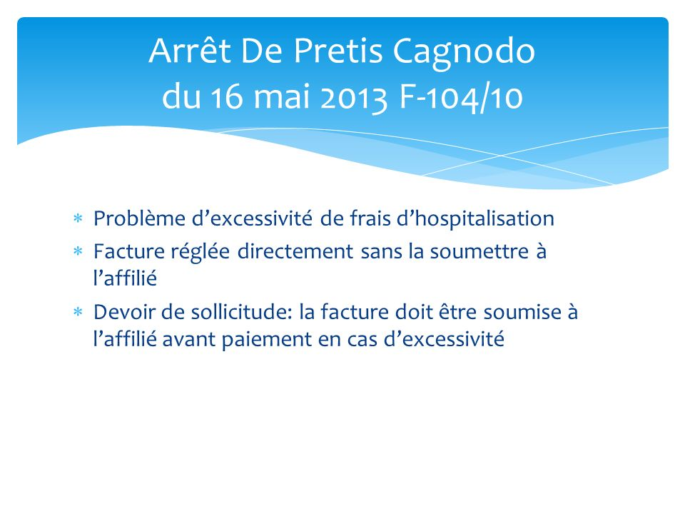 Arrêt De Pretis Cagnodo du 16 mai 2013 F-104/10